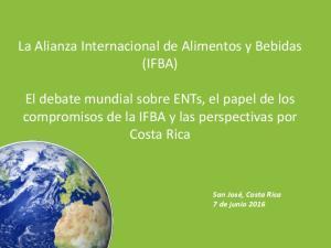 La Alianza Internacional de Alimentos y Bebidas (IFBA)