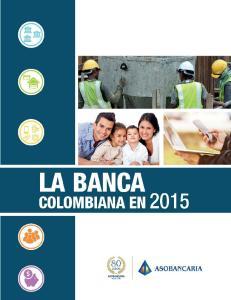 La Banca Colombiana en 2015