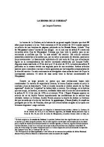 LA BROMA DE LE CORBEAU 1. por Jacques Bienvenu