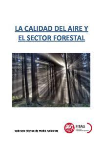 LA CALIDAD DEL AIRE Y EL SECTOR FORESTAL