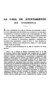 LA CASA DE AYUNTAMIENTO