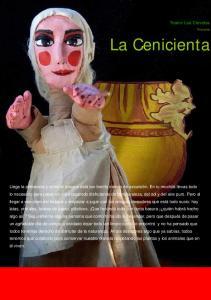 La Cenicienta. Teatro Los Claveles