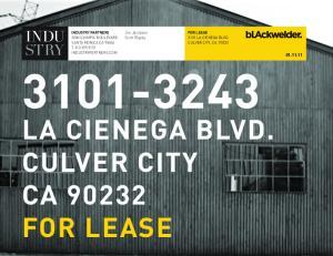 LA CIENEGA BLVD. CULVER CITY CA FOR LEASE FOR LEASE