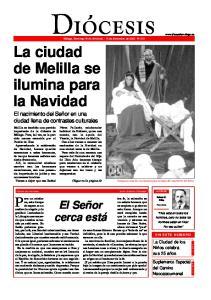 La ciudad de Melilla se ilumina para la Navidad