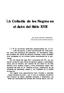 La Cofradía de los Negros en