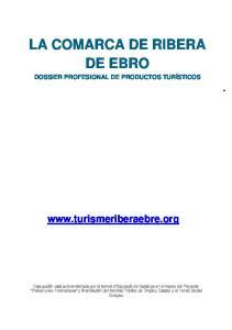 LA COMARCA DE RIBERA DE EBRO
