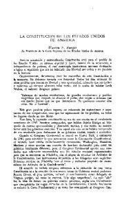 LA CONSTITUCION DE LOS ESTADOS UNIDOS DE AMERICA
