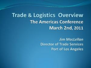 LA Customs District Trade with the Americas