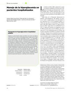 La diabetes mellitus (DM) comprende un grupo