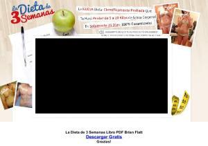 La Dieta de 3 Semanas Libro PDF Brian Flatt Descargar Gratis Grazias!