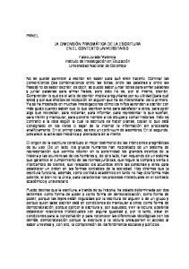LA DIMENSIÓN PRAGMÁTICA DE LA ESCRITURA EN EL CONTEXTO UNIVERSITARIO