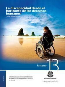 La discapacidad desde el horizonte de los derechos humanos