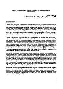 LA DISPUTA POR EL GAS Y EL PETROLEO EN EL MARCO DEL ALCA (Primera Parte)