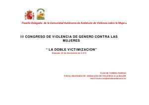 LA DOBLE VICTIMIZACION