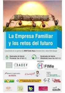 La Empresa Familiar y los retos del futuro