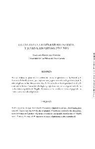 LA ENEIDA EN LA LITERATURA INFANTIL Y JUVENIL EN ESPAÑA ( )