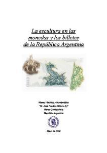 La escultura en las monedas y los billetes de la República Argentina