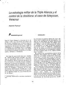 La estrategia militar de la Triple Alianza y el