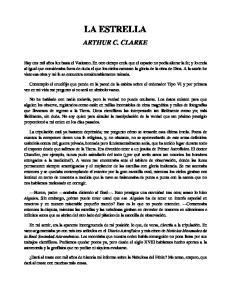 LA ESTRELLA ARTHUR C. CLARKE