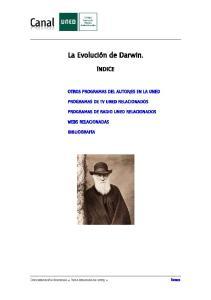 La Evolución de Darwin