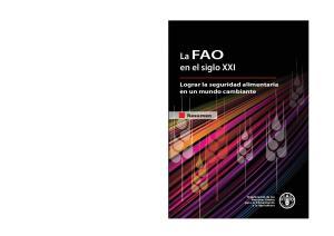 La FAO en el siglo XXI