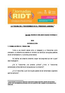 LA FIGURA DEL FIDEICOMISO EN EL PROCESO LABORAL 1