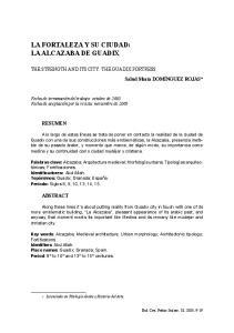 LA FORTALEZA Y SU CIUDAD: LA ALCAZABA DE GUADIX