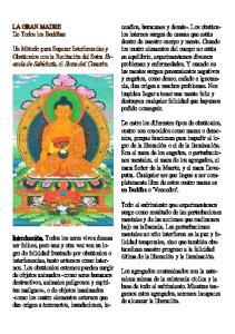 LA GRAN MADRE De Todos los Buddhas