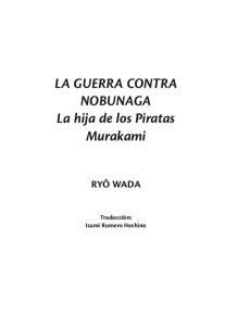 LA GUERRA CONTRA NOBUNAGA La hija de los Piratas Murakami