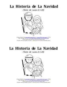 La Historia de La Navidad. La Historia de La Navidad
