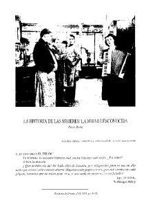 LA HISTORIA DE LAS MUJERES : LA MITAD DESCONOCIDA. Paco Roda