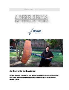 La historia de Luciana