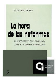 La hora de las reformas