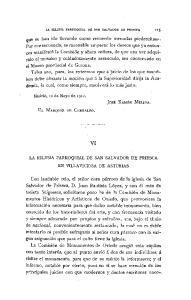 LA IGLESIA PARROQUIAL DE SAN SALVADOR DE PRIESCA 125
