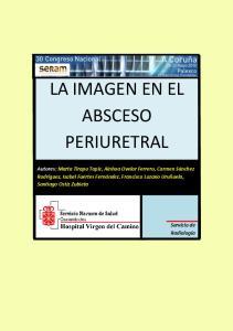 LA IMAGEN EN EL ABSCESO PERIURETRAL