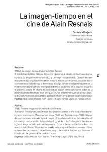 La imagen-tiempo en el cine de Alain Resnais