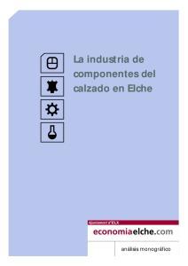 La industria de componentes del calzado en Elche