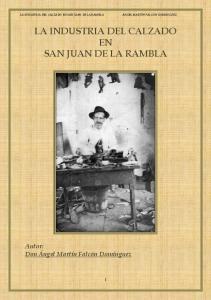 LA INDUSTRIA DEL CALZADO EN SAN JUAN DE LA RAMBLA