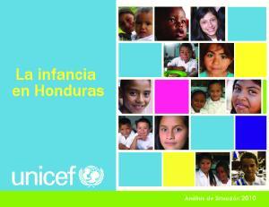 La infancia en Honduras