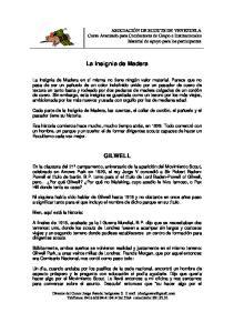 La Insignia de Madera GILWELL