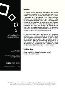 La llegada de las maras a Cataluña