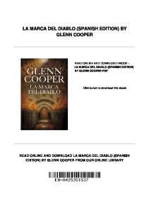 LA MARCA DEL DIABLO (SPANISH EDITION) BY GLENN COOPER
