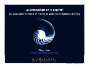 La Metodología de la Espiral
