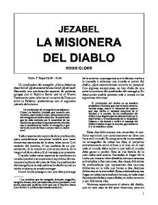 LA MISIONERA DEL DIABLO EDDIE CLOER