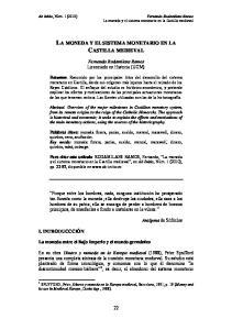 LA MONEDA Y EL SISTEMA MONETARIO EN LA CASTILLA MEDIEVAL