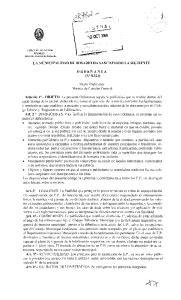 LA MUNICIPALIDAD DE ROSARIO HA SANCIONADO LA SIGUIENTE. ORDENANZA (No 8.324) Titulo Preliminar Normas de Caracter General