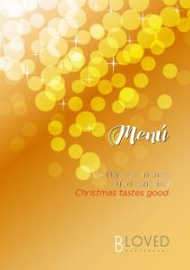 La Navidad nunca supo tan bien Christmas tastes good