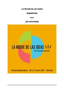 LA NOCHE DE LAS IDEAS ARGENTINA