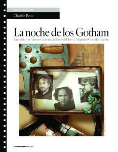 La noche de los Gotham
