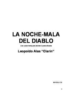 LA NOCHE-MALA DEL DIABLO